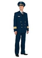 Men's double-breasted uniform suit