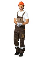 """Bavaria"" men's  bib overall"