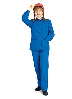 Summer ladies work suit