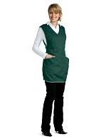 Ladies smock-apron (dark green)