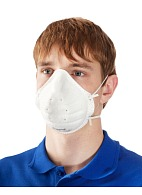Filtering half-mask (respirator) SuperOne 3205 for dust and mist protection