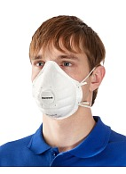 Filtering half-mask (respirator) SuperOne 3206 with exhalation valve for dust and mist protection