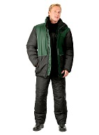 WINTER men's heat-insulated jacket