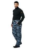 """SECURITY"" men's heat-insulated camouflage trousers"
