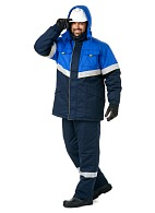 TROYKA-LEADER men's heat-insulated three-piece work suit