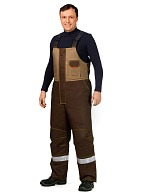 BAVARIA men's heat-insulated bib overall