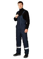 BAIKAL-2 men's heat-insulated bib-overall (Class 4 protection)