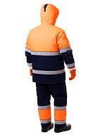 MAGISTRAL men's high visibility heat-insulated work suit