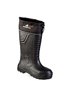 """NORDMAN SAFETY"" insulated fold down collar men's knee-high boots"