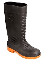 GRAPHITE safety high leg boots