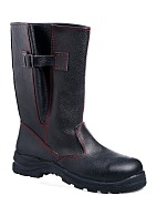 UTAH high leg leather boots with composite toe cap