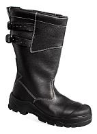 NEOGARD fur-lined leather high leg boots (sole – polyurethane + nitrile rubber)