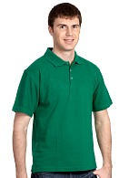 Short sleeve POLO shirt, green