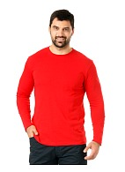 Long sleeve shirt, red