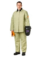 Canvas welder work suit