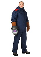MARS welder heat-insulated work suit