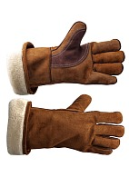 POLAR GUARD split edge heat-insulated gauntlets