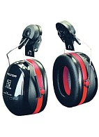 OPTIME™ III earmuffs with helmet attachments (H540P3E-413-SV)