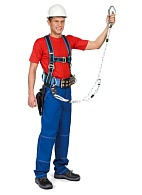 PM-NLZh fall arrest harness for retaining and positioning (lineman belt, for )