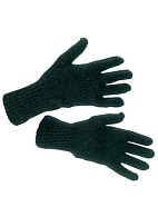 Wool blend two-layer gloves