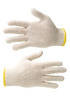 Knitted cotton gloves (Gauge 7)