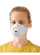 3M™ Aura™ 9332+ filtering half mask (respirator) for protection against dust, mists and fumes (with exhalation valve) (FFP3, up to 50 MAC)