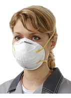 3M™ 8710 filtering half mask (respirator) for protection against dust and mists (FFP1, up to 4 MAC)