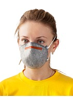 5140 aerosol filtering half mask (respirator) with additional protection against organic vapors