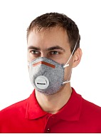 5141 aerosol filtering half mask (respirator) with additional protection against organic vapors (with exhalation valve)