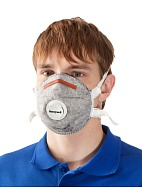 5251 aerosol filtering half mask (respirator) with additional protection against  organic gases and vapors (with exhalation valve)
