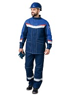MEGATEC-2 men's flame-resistant antistatic  <br />work suit for protection against petrochemicals and short-time flame exposure