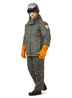 PRIOR heat-insulated welder work suit