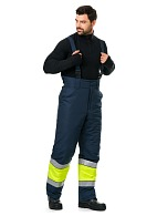 LUMOS men's hi-vis heat-insulated trousers
