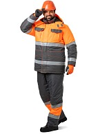 """PROZHEKTOR"" men's hi-vis heat-insulated work suit"