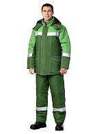 """GOLF"" men's heat-insulated work suit"