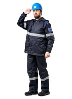 OILSTAT-2 mens  work suit against oil and electrostatic charging