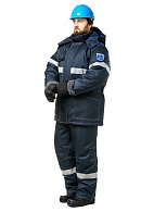 OILSTAT-2 mens work suit against oil, reduced temperatures and electrostatic charging