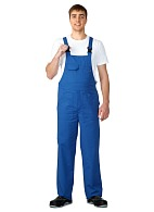 UNIVERSAL men's  bib overall (cornflower blue)
