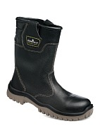 """NEOGARD-LIGHT"" knee-high men's leather boots"