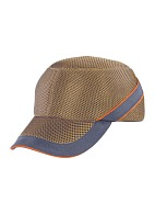 AIR COLTANImpact resistant baseball-style bump cap Color: Beige/Dark Grey (COLTAAIBE)