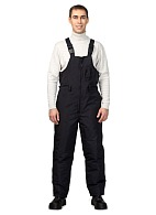 WINTER men's heat-insulated bib overall