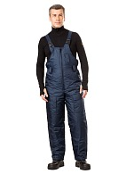 """Blizzard"" men's heat-insulated bib-overall"