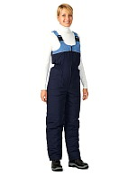 LADOGA ladies heat-insulated bib-overall