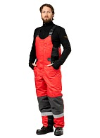 """Fort"" men's heat-insulated bib overall"
