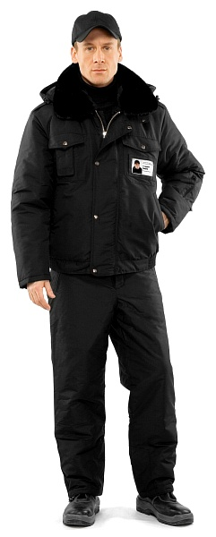 SECURITY heat-insulated men's jacket