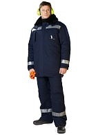 JUPITER (TA-04) men's heat-insulated jacket