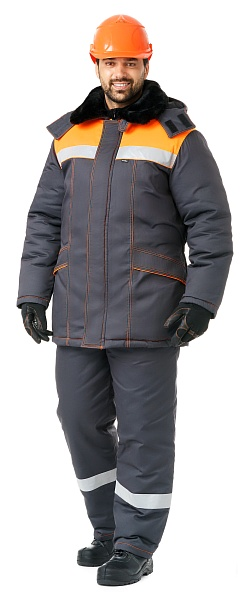 """BUILDER"" men's heat-insulated work suit"