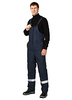 BAIKAL men's heat-insulated bib-overall (Class 2 protection)