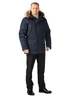 CAPTAIN men's heat-insulated jacket (dark blue)