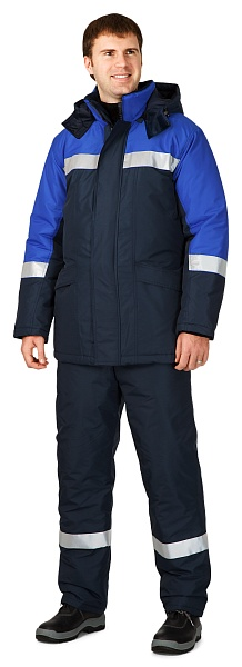 BAIKAL-2 men's heat-insulated jacket (Class 3 protection)